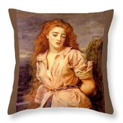 The Matyr Of The Solway Throw Pillow