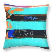 The Max Face In Inverted Colors Throw Pillow