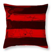 The Max Face In Red Throw Pillow