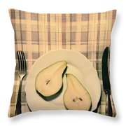 The Meal Of The Day Throw Pillow