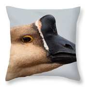 The Meandering Gander Throw Pillow