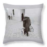 The Medina Throw Pillow