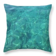 The Mediterranean Lyrics Throw Pillow
