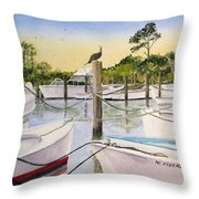 The Meeting Place Throw Pillow