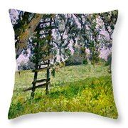 The Memory Of Childhood Throw Pillow