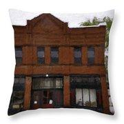 The Mercantile Throw Pillow