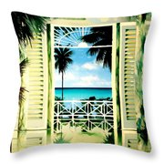 The Messel Suite Throw Pillow