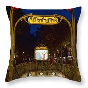 The Metropolitain #2 Throw Pillow