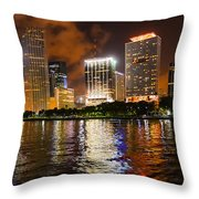 The Miami Guardian Throw Pillow