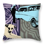 The Middle Man Throw Pillow