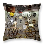 The Midway Throttle Board Throw Pillow