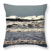 The Mighty Pacific II Throw Pillow