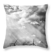 The Mighty Wind Palm Springs Throw Pillow
