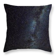 The Milky Way Galaxy  Throw Pillow