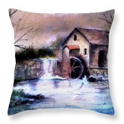 The Millstream Throw Pillow
