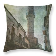 The Minaret Throw Pillow