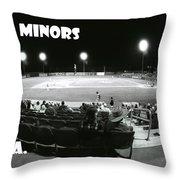 The Minors Usa Throw Pillow