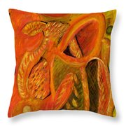 The Mirage Throw Pillow