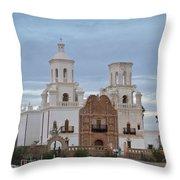 The Missioin Of San Xavier 10 Throw Pillow