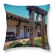 The Mission Bell Throw Pillow
