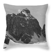 1m3523-bw-the Mitre Throw Pillow