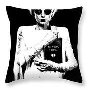 The Modern Bride B Throw Pillow