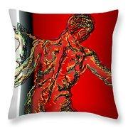 The Modern Man 2 Throw Pillow