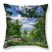 The Mogollon Rim  Throw Pillow
