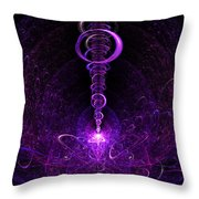 The Moment Of Inspiration Throw Pillow