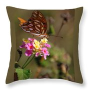 The Monarch 2 Throw Pillow