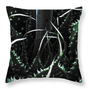 The Monster Is Impaled  Throw Pillow