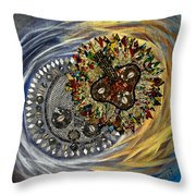 The Moon's Eclipse Throw Pillow