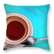 The Morning After Throw Pillow