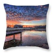 The Morning Sky Throw Pillow
