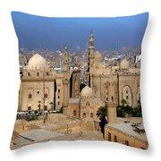 The Mosque Of Al-azhar Throw Pillow