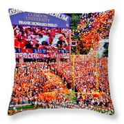 The Most Exciting 25 Seconds Throw Pillow