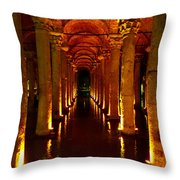 The Most Romantic Place Of Istanbul Throw Pillow