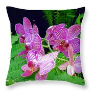 The Most Wonderful Flowers Throw Pillow