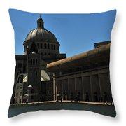 The Mother Church Throw Pillow