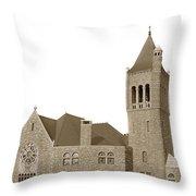 The Mother Church The First Church Of Christ Scientist Boston Massachusetts Circa 1900 Throw Pillow