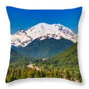 The Mountain And The Valley Throw Pillow