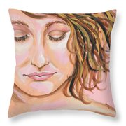 The Mourning After Throw Pillow