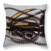 The Movie Buff Throw Pillow