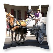 The Movie Maker Throw Pillow