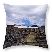 The Muir Trail Throw Pillow