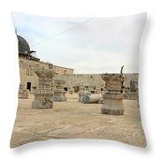 The Museum At Dome Of The Rock Throw Pillow