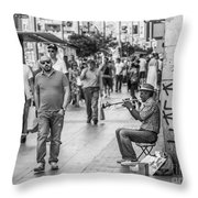 The Music Throw Pillow