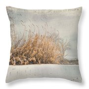 The Music Of Nature Throw Pillow