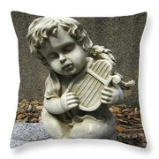 The Musician 01 Throw Pillow