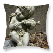 The Musician 03 Throw Pillow